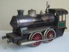 BING-I Locomotive 020 à vapeur vive via ANTIQUE MARCBEA. Click on the image to see more!