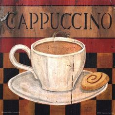 Cappuccino by Kari Phillips art print