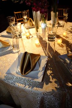 Our gold table from Nova 535