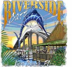Riverside Cafe, Vero Beach, FL Love watching the sunset there!