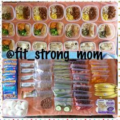 Here is how I do meal prep and snack prep. Prepare ahead or prepare to fail, its your choice! Healthy snacks. Clean eating. Lose weight. Get fit.  For Fitness Motivation, Workout videos, and Fit Tips Follow @fit_strong_mom on Instagram!