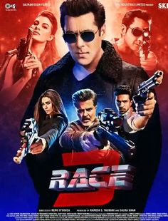Race 3 Budget Box Office Collection: Hit or Flop: Bollywood Race 3 movie is an upcoming feature film which is produced under the Tips Films, Salman Khan films & directed by choreographer Remo D'Souza And Worldwide Release 15 June Latest Bollywood Movies, Latest Movies, New Movies, Watch Bollywood Movies Online, Popular Movies, Upcoming Movies, Movies To Watch Online, Movies To Watch Free, Movies Free
