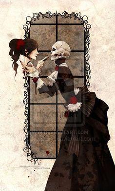 dark beautiful art