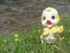 Squeaky Toy Little Duck by FrenchFairyTale on Etsy