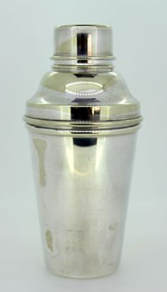 Currently at the #Catawiki auctions: Vintage Silver Plate Cocktail Shaker, Birmingham Handicrafts LTD, Circa.1950s