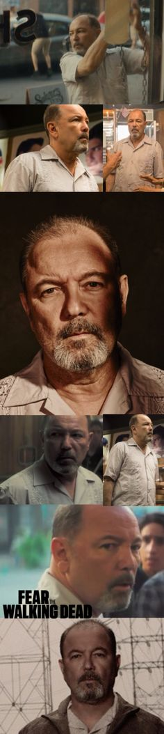 Daniel Salazar  - Cast - Fangirl - Fear the Walking Dead played by Reuben Blades