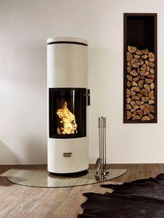 Kaminofen Cera Design Solitherm Thermotte (Ofen des Jahres 2016) 002 Annex Ideas, Stove, Oversized Mirror, New Homes, Home Appliances, Indoor, Flooring, Wood, Home Decor