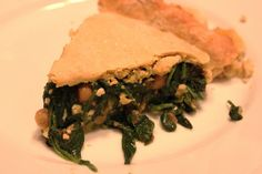 Spinach Chickpea Pie