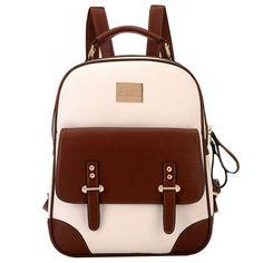 British Style Vintage Backpack SCHOOL Bag