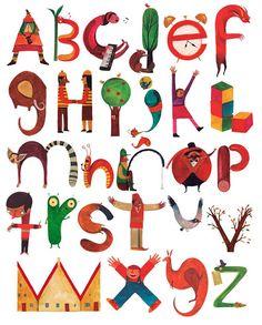 10 Alfabets il·lustrats / 10 Alfabetos ilustrados / 10 illustrated Alphabets
