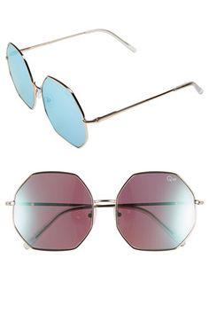 Quay Australia Quay Australia 'Kiss & Tell' 60mm Sunglasses available at #Nordstrom