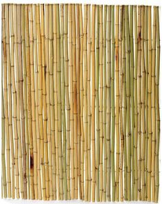 """Rolled Bamboo Fence, 3/4"""" diameter poles, 8'L x 4'H"""