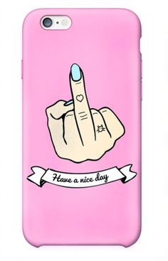 Middle Finger iPhone 6 Case