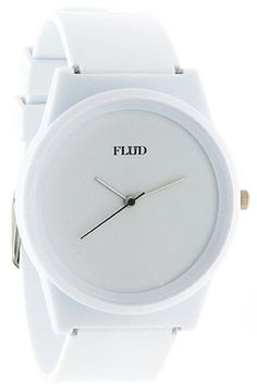 The Pantone Watch in White by Flud Watches use rep code: OLIVE for 20% off!
