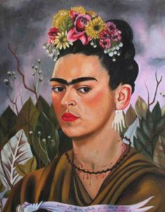 Frida Kahlo Paintings And Self Portraits | Find all in http://bocadolobo.com/blog/art/frida-kahlo-paintings-and-self-portraits/