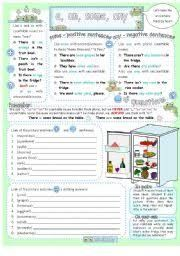 Image result for there is there are exercises with pictures pdf