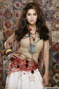 Madhuri Dixit in a bikini, can you imagine? at Bollywood Divas Never Imagined In Bikini