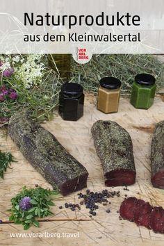 Herbert Edlinger aus dem Kleinwalsertal in Vorarlberg stellt hochwertige Lebensmitteln mit ausschließlich natürlichen Zutaten her. Der respektvolle und nachhaltige Umgang mit der Natur stellt die Basis seines Handelns dar. Ethnic Recipes, Food, Foods, Handmade, Nature, Essen, Meals, Yemek, Eten
