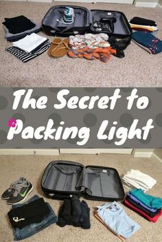 The Secret to packing light. I recently went to a 4 day long conference and it astounded me at the luggage people were bringing. I literally thought they were in town for a month long trip. They packed more belongings than some backpackers own, period. Believe it or not, it is possible to pack light no matter the length of your holiday. Just like anything, the more you practice, the better you become.