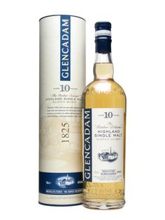 The new Glencadam 10yo, released at the end of 2008 by (relatively) new owners Angus Dundee.  This is styled as 'The Rather Delicate Highland Malt'.  Unchilfiltered, with no colouring and bottled a...