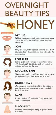 - Healthy Tips & Hacks - Overnight Beauty Tips with Honey - 14 Beneficial Beauty Tips for Face and Body C. Overnight Beauty Tips with Honey - 14 Beneficial Beauty Tips for Face and Body Care to Beautify Yourself from Head to Toe Beauty Tips With Honey, Beauty Tips For Face, Face Tips, Natural Beauty Tips, Beauty Ideas, Beauty Tips For Teens, Beauty Guide, Face Beauty, Beauty Hacks Diy