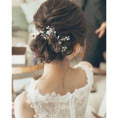 おくれ毛 #hawaii #hawaiiwedding #hairstyle #ハワイ#ハワイウェディング#ヘアメイク#ヘアアレンジ#プレ花嫁#シニヨン#おくれ毛