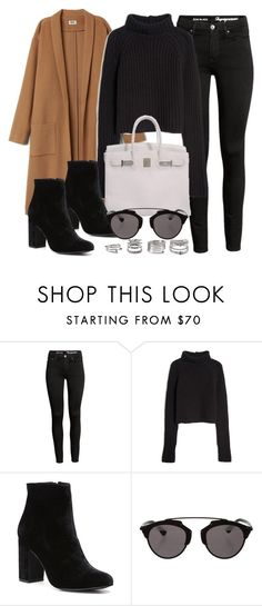 """Sin título #12062"" by vany-alvarado ❤ liked on Polyvore featuring T By Alexander Wang, Hermès, Witchery, Christian Dior and Forever 21"