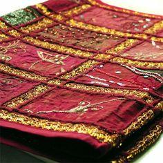 tissu mural indien patchwork rose fuchsia couture tissus pinterest peintures murales. Black Bedroom Furniture Sets. Home Design Ideas