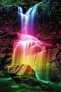 ColorfulWaterfall
