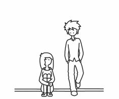Animated gif about girl in Adorable by Carli on We Heart It Wimpy Kid Series, Cute Couple Cartoon, Tumblr Drawings, Cute Love Gif, Cartoon Gifs, Animated Gif, Pixel Art, Cute Couples, Memes