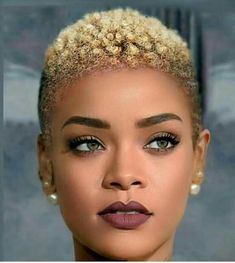 Fade-Haircut-for-Black-Women Best Short Hairstyles for Black Women 2018 – 2019 Age never prevents a woman from being a woman. Let these older women's short hairstyles inspire your inner young spirit. Natural Hair Short Cuts, Short Natural Haircuts, Tapered Natural Hair, Natural Hair Styles For Black Women, Short Hair Cuts, Natural Styles, African Hairstyles, Black Women Hairstyles, Hairstyles 2016
