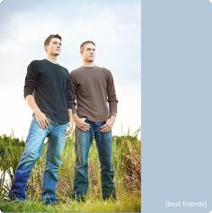 best bud or brothers. Nice for Deon and Shaun/Justin Twin Senior Pictures, Friend Senior Pictures, Brother Pictures, Senior Pics, Senior Portraits, Family Portraits, Brother Photography Poses, Adult Sibling Photography, Family Photography