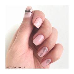Nail tattoo Nail Tattoo, Manicure, Nails, Tattoos, Beauty, Nail Designs, Nail Bar, Finger Nails, Beleza