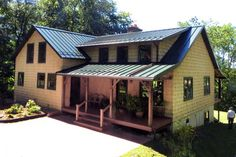 Best Color Metal Roofing Burnished Slate Metal Roof Houses 400 x 300