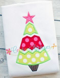 Luke 2 11 christmas tree words machine embroidery design file in 2
