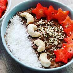 Νηστίσιμη vegan μους σοκολάτας | Mygreekgreenplate Acai Bowl, Vegan, Breakfast, Food, Acai Berry Bowl, Morning Coffee, Eten, Meals, Vegans
