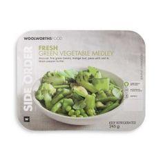Green Vegetable Medley 245g   Woolworths.co.za Vegetable Medley, Food Preparation, Asparagus, Sprouts, Side Dishes, Meals, Fresh, Vegetables, Studs