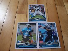 CAM NEWTON KENJON BARNER RC THOMAS DAVIS 2013 Topps Carolina Panthers Card Lot