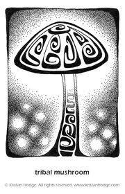 mushroom drawing - Google Search