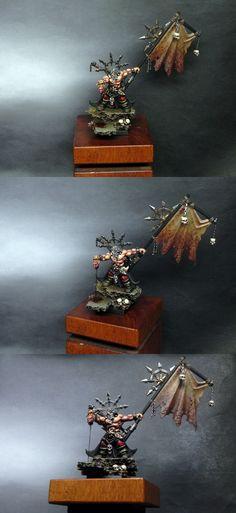 Warriors Of Chaos - Battle Standard Bearer