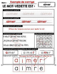 Les 22 verbes devant être connus des élèves de 1ère année se retrouvent dans ce produit numérique (liste du MELS 2014). Dans des activités répétitives, les élèves seront autonomes à réaliser ces courtes tâches afin de manipuler les 22 verbes que composent cet ensemble.