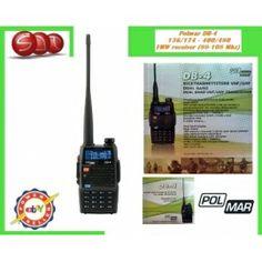 POLMAR DB-4 RICETRASMETTITORE DUAL BAND VHF/UHF 136-174/400-470 MHZ