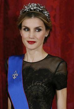 Cita histórica en el Palacio Real: Primera cena de gala ofrecida por los reyes Felipe y Letizia #realeza
