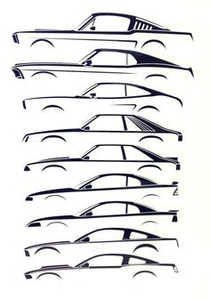 The transformation of the Ford #Mustang through the years.