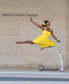 Paul Taylor Dance Company's Michelle Fleet (photo Jordan Matter)