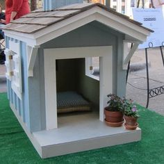 ideas about Dog House Plans on Pinterest   Dog Houses     Dog House Decoration Ideas  Bright Accents for Backyard Designs