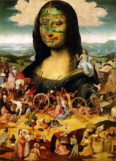 Gioconda Remix [Nicholas Coates] (Gioconda / Mona Lisa) #monalisa #joconde #détournement #fun