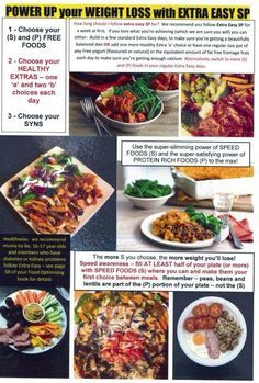 Extra easy sp info :) my slimming world, slimming world survival, slimming world Sp Days Slimming World, Slimming World Healthy Extras, Slimming World Survival, Slimming World Recipes, Healthy Foods To Eat, Easy Healthy Recipes, Healthy Eating, Clean Eating, Healthy Options