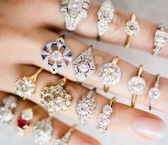 Choose from the diverse style of Vintage specialist Victor Barbone Jewelry for your one of a kind antique or Vintage Engagement Ring!