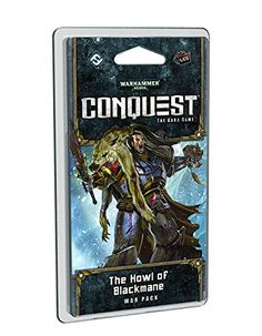 Warhammer 40K Conquest LCG: The Howl of Blackmane War Pack Fantasy Flight Games